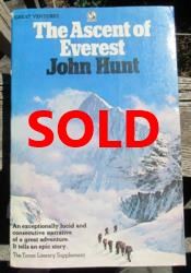 signed tenzing & hillary ascent